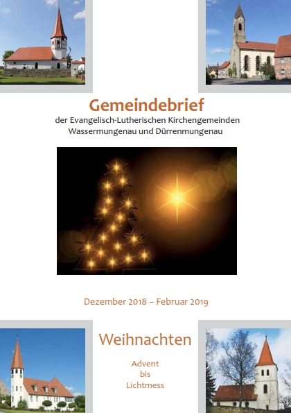 Gemeindebrief Winter 2018