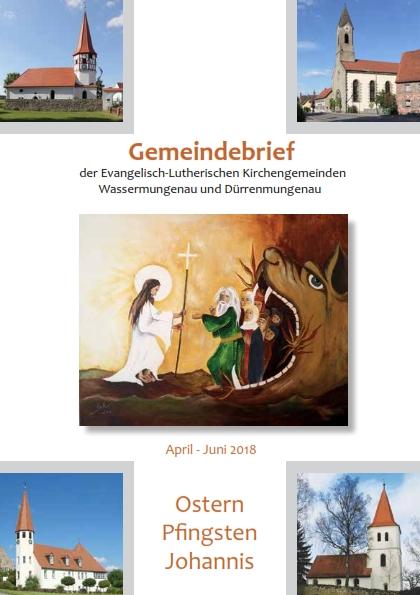 Gemeindebrief Ostern 2018
