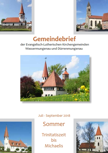 Gemeindebrief Sommer 2018