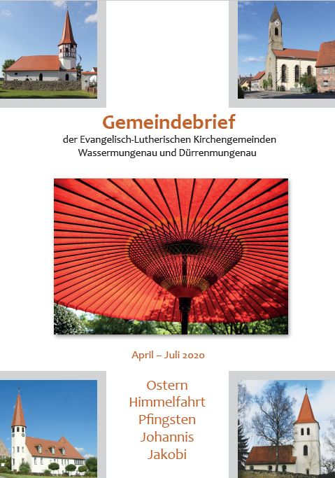Gemeindebrief Ostern 2020