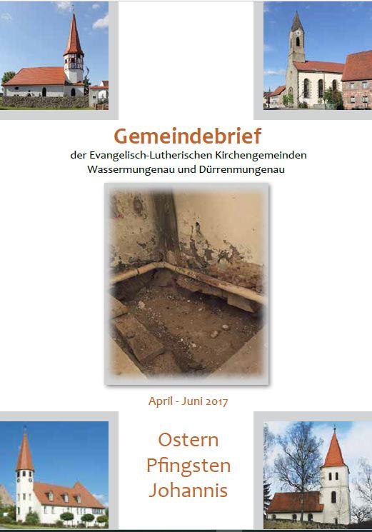 Gemeindebrief Ostern 2017