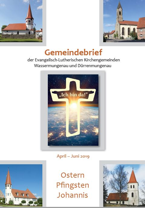 Gemeindebrief Ostern 2019
