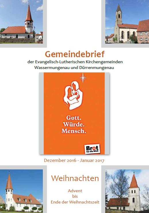 Gemeindebrief Winter 2016