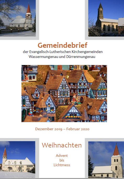 Gemeindebrief Winter 2019