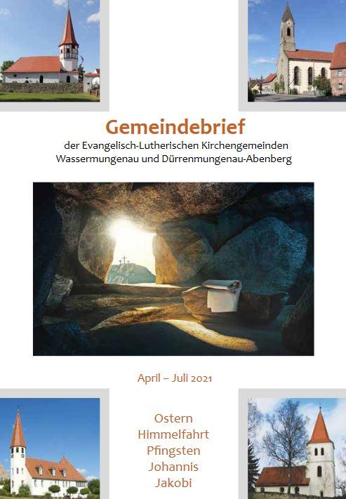 Gemeindebrief #029 Ostern 2021